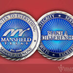 Celebrate Excellence Mansfield Texas Challenge Coin