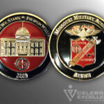 Celebrate Excellence Missouri Alumni Academy 1889 Challenge Coin
