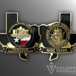 Celebrate Excellence NIOC Texas Navy Ops Command Challenge Coin