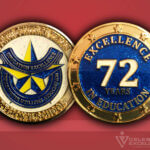 Celebrate Excellence North Texas Education Water Utilities Challenge Coin