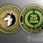 Celebrate Excellence Oliver Wendell Holmes HS Challenge Coin