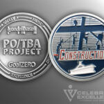 Celebrate Excellence PO-TBA Project Construction 2 Challenge Coin