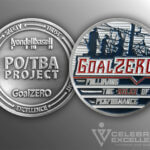 Celebrate Excellence PO-TBA Project Goal Zero Challenge Coin