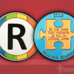Celebrate Excellence Rainbow Housing Challenge Coin