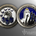 Celebrate Excellence Randolph AFB Top 3 Coin