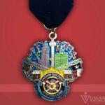 Celebrate Excellence SAFD Benevolent Fund Fiesta Medal