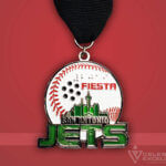 Celebrate Excellence San Antonio Jets Fiesta Medal