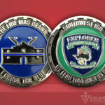 Celebrate Excellence Southwest ISD Explorer Challenge Coin
