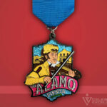 Celebrate Excellence The Alamo Fiesta Medal