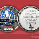 Celebrate Excellence The Schertz Chamber Challenge Coin