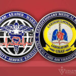 Celebrate Excellence USAF Cardio Lab Challenge Coin