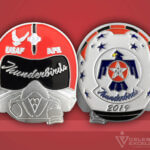 Celebrate Excellence USAF Thunderbirds AFE Challenge Coin