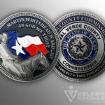 Celebrate Excellence Val Verde County Commissioner Challenge Coin