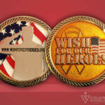 Celebrate Excellence Wish for Our Heroes Challenge Coin