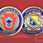 Celebrate Excellence 111 Attack Wing Pennsylvania Chief's Coin
