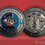 126th 1st Sgt Council Challenge Coin