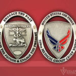 Challenge Coin 359th Medical Group Coin