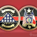 Celebrate Excellence Fire EMS Honor Guard Challenge Coin