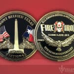 Celebrate Excellence Fire & Iron Station 65 Coin Showcase