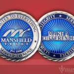 Celebrate Excellence Mansfield Challenge Coin